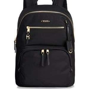 TUMI Voyageur Hagen Black Nylon Backpack